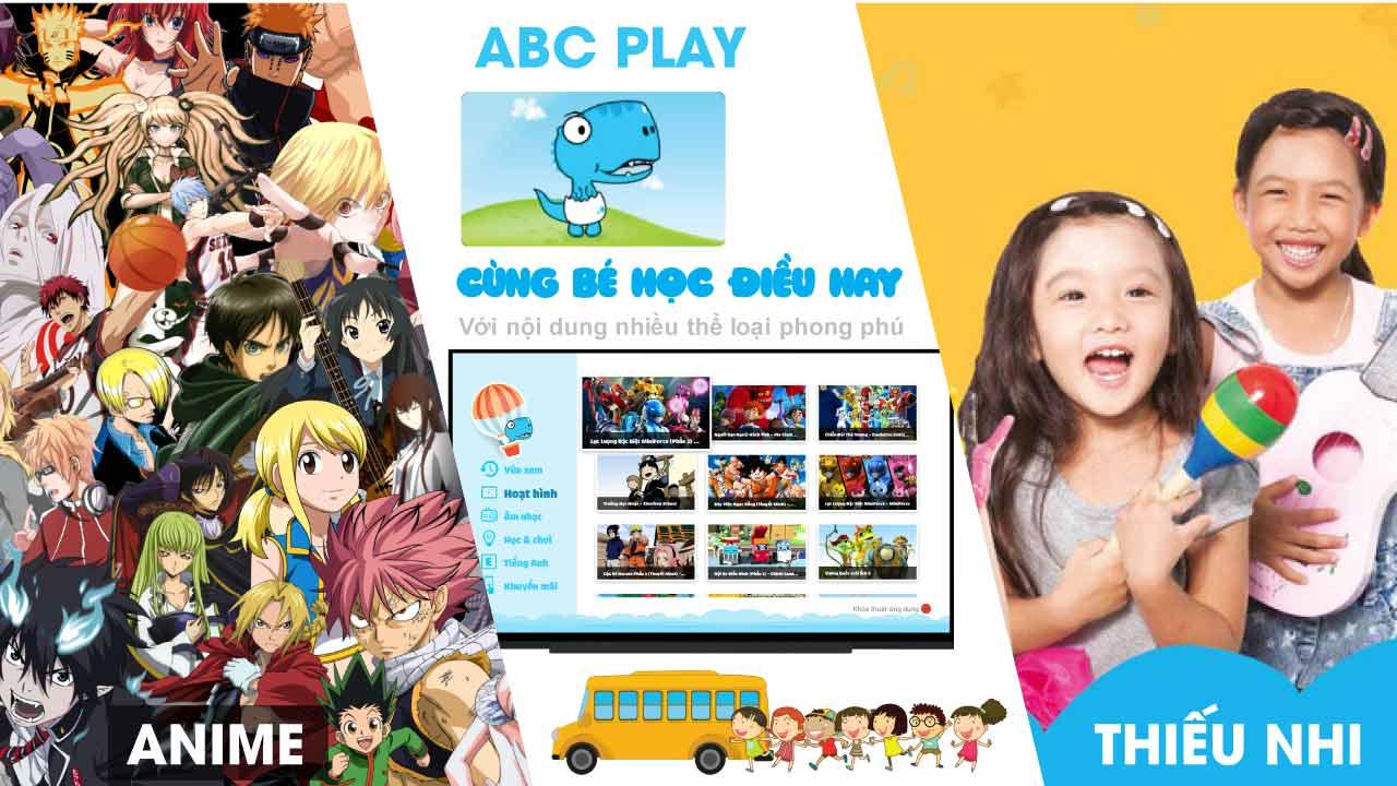 Đầu FPT Play box 2018 có các chương trình giáo dục trẻ em
